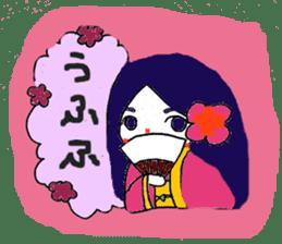 Witch's pupil sticker #11933972
