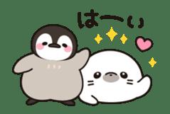 healing penguin(animation ver.) sticker #11938504