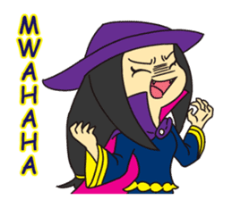 Witch Jumona sticker #11940551