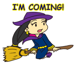 Witch Jumona sticker #11940566