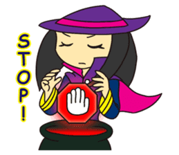 Witch Jumona sticker #11940575