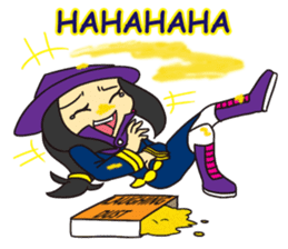Witch Jumona sticker #11940578