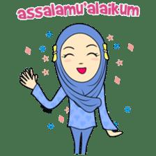 Cute Hijab sticker #11942478