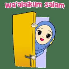 Cute Hijab sticker #11942479