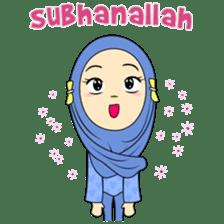 Cute Hijab sticker #11942481