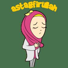 Cute Hijab sticker #11942482