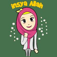 Cute Hijab sticker #11942484