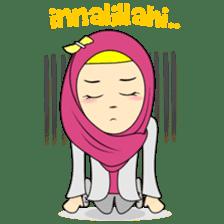 Cute Hijab sticker #11942485