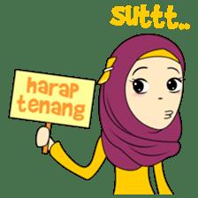 Cute Hijab sticker #11942490