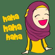Cute Hijab sticker #11942491