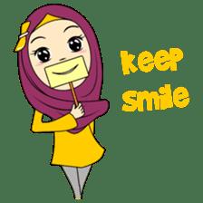 Cute Hijab sticker #11942492