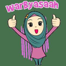 Cute Hijab sticker #11942494