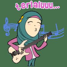 Cute Hijab sticker #11942495