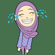 Cute Hijab sticker #11942499