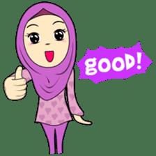 Cute Hijab sticker #11942503