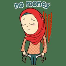 Cute Hijab sticker #11942507