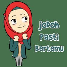 Cute Hijab sticker #11942509