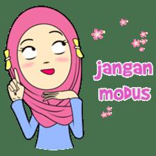 Cute Hijab sticker #11942515