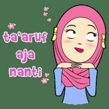 Cute Hijab sticker #11942516