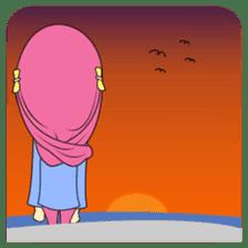 Cute Hijab sticker #11942517