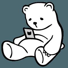 fat white bear