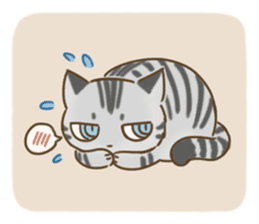 Fluffy Tea Time sticker #11951353
