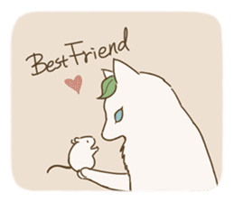 Fluffy Tea Time sticker #11951372