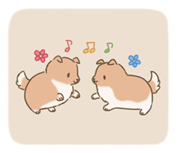 Fluffy Tea Time sticker #11951382