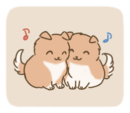 Fluffy Tea Time sticker #11951383