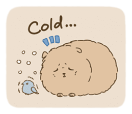 Fluffy Tea Time sticker #11951384