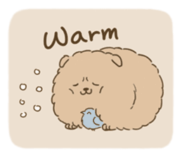 Fluffy Tea Time sticker #11951385