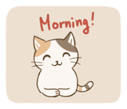 Fluffy Tea Time sticker #11951386