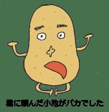 Cute potato Koike-san sticker #11954736
