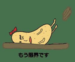 Cute potato Koike-san sticker #11954757