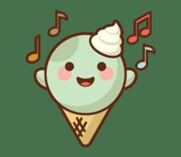 Chibi Ice Cream Friends sticker #11956750