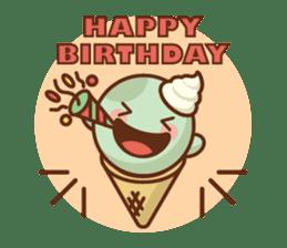 Chibi Ice Cream Friends sticker #11956755