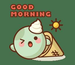 Chibi Ice Cream Friends sticker #11956756
