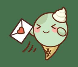 Chibi Ice Cream Friends sticker #11956762