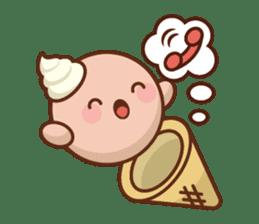 Chibi Ice Cream Friends sticker #11956767