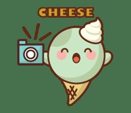 Chibi Ice Cream Friends sticker #11956768