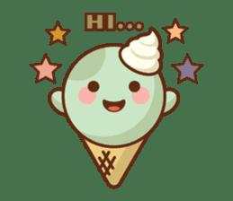 Chibi Ice Cream Friends sticker #11956770
