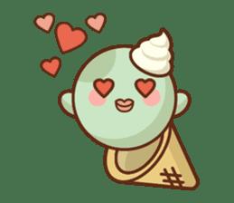 Chibi Ice Cream Friends sticker #11956777