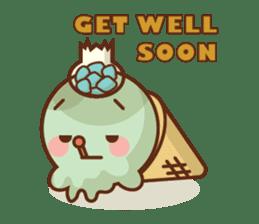 Chibi Ice Cream Friends sticker #11956778