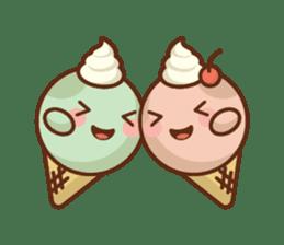 Chibi Ice Cream Friends sticker #11956780