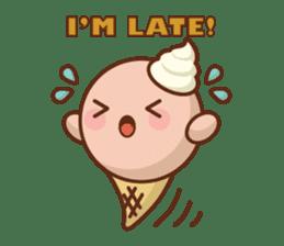 Chibi Ice Cream Friends sticker #11956783