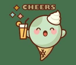 Chibi Ice Cream Friends sticker #11956788