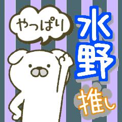 After all Mizuno's sticker