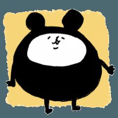 japanese bear sticker