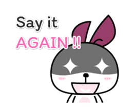 Lune the Bunny Animated sticker #11963624