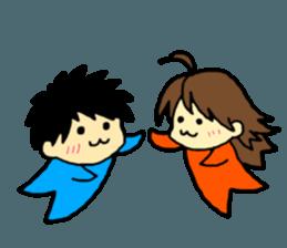 Just a little weird people. by Saichibi sticker #11975710